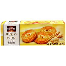 Feiny Biscuits Kekse mit Butter 130g - 130g