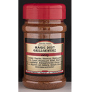 Magic Dust BBQ-Rub Gewürzzubereitung in attraktiver runder Streudose - 220g Dose